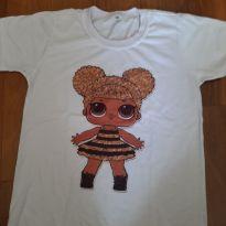 Camiseta Lol - 6 anos - Não informada