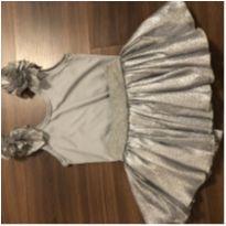 Bailarina prata - 2 anos - Artesanal