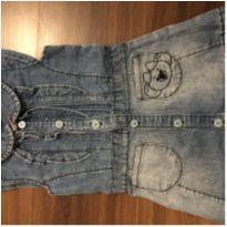 Vestido Jeans - 12 a 18 meses - Lilica Ripilica
