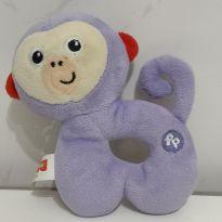 Fisher Price Meu Primeiro Chocalho Macaco - Fun -  - Fisher Price