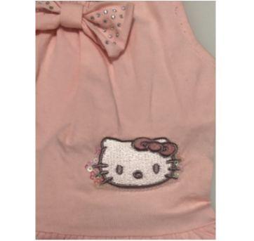 Vestidinho Hello Kitty - 9 a 12 meses - Hello Kitty by Sanrio e Hello  Kitty