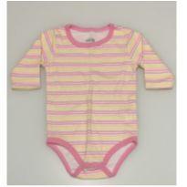 Body listrinhas - 9 a 12 meses - Cutie Baby