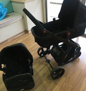 Carrinho com Bebê Conforto Mobi Travel System - Safety 1st - Sem faixa etaria - Safety 1st