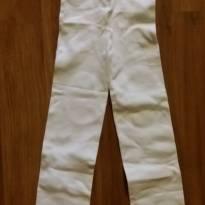 Meia calça branca - 12 a 18 meses - Não informada
