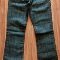 Calça jeans com elastano - P - 38 - clock house