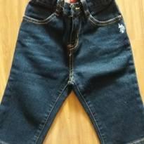 Calça jeans - 9 a 12 meses - US Polo Assn