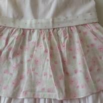 Vestido florzinhas - 3 a 6 meses - Baby Doces Momentos