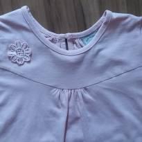 Blusa rosinha tam 3 - 24 a 36 meses - Poim, Cherokee e Up Baby
