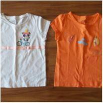 Kit camisa alphabeto tam 1 - 9 a 12 meses - Alphabeto