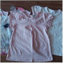 Kit camisa 1 ano POUCO USADA - 1 ano - Não informada