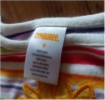 Lote 2 blusas manga longa gymborre tam 5 - 5 anos - Gymboree