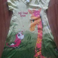 Vestido GIrafinha ELIAN tam 4 - 5 anos - Elian