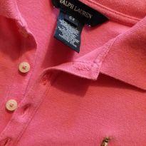Camisa Ralph Lauren tam 6x - 4 anos - Ralph Lauren