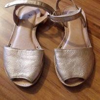 Sandália dourada BIBI tam 31 - 31 - Bibi