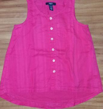 Camisa Pink GAPkids - 5 anos - Baby Gap