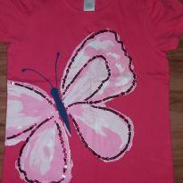 camisa borboleta tam 7