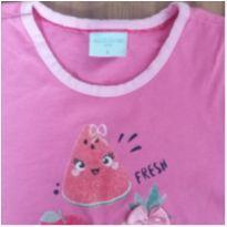 camisa pijama tam 6 - 6 anos - Não informada