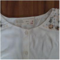 camisa off White Zara - 6 anos - Zara