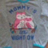 camisa pijama sem etiqueta -doação - 5 anos - Não informada