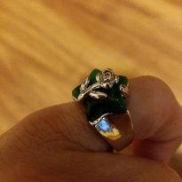 anel bijuteria pro dedinho -  - Não informada