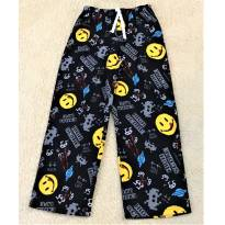 L205 - Calça comprida de pijama em fleece - Joe Boxer - H/10-12 anos - 10 anos - Joe Boxer - USA