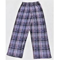 L203 - Calça comprida de pijama  xadrez Arizona - H/10-12 anos - 12 anos - Arizona Jeans - USA