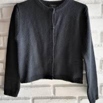 L209 - Blusa preta em tricô- Izod - M/4-5 anos - 4 anos - IZOD