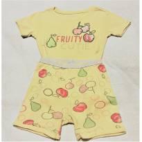 L211 - Pijama duas peças  GAP - M/4 anos - Frutinhas - 4 anos - GAP