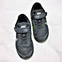 L226 - Tênis preto  Nike Tri Fusion Run - H/13 USA - 30 BR - 19 cm. - 30 - Nike