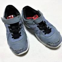 L225 - Tênis Nike Revolution 2 - cinza c/preto e vermelho - H/13 USA - 30 BR - 1 - 30 - Nike