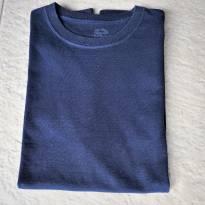L226 - Camiseta marinho Fruit of the Loom - H/14 anos - 14 anos - FRUIT OF THE LOOM