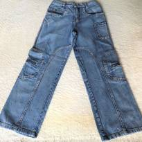 L246 -Calça Jeans masculina tradicional  - 507 - 14 anos - Bem Feito - BR