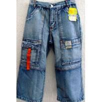 L247 -  Calça jeans masculina modelo Capri tradicional - 506 - 12 anos - Bem Feito - BR