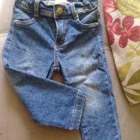 Calça jeans - 6 a 9 meses - yoyo Baby