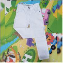 Calça branca Baby Club - 3 anos - Baby Club