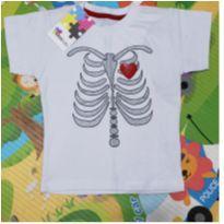 Camiseta Minilab Esqueleto - 2 anos - Minilab