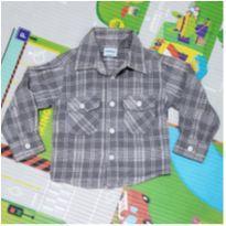 Camisa de Flanela Baby Way - 3 meses - Baby Way