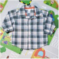 Camisa Xadrez Carter`s - 6 meses - Carter`s