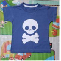 Camiseta Minilab Caveirinha 1 - 1 ano - Minilab