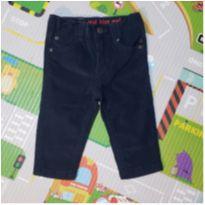 Calça de veludo Teddy Boom - 6 a 9 meses - Teddy Boom