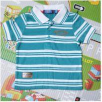 Camisa Polo Super Comics - 1 ano - Marca não registrada