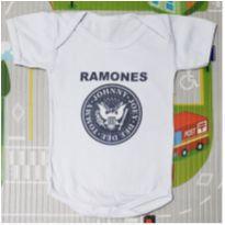 Body Ramones - 0 a 3 meses - Nenê Legal