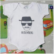 Body Heisenberg - 9 a 12 meses - Marca não registrada