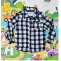 Camisa Xadrez de Flanela Póim - 3 anos - Poim