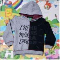 Blusa de Moletom Bicolor Pool Kids - 4 anos - Pool Kids