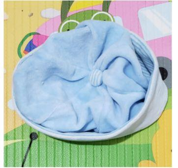 Touca de plush Bela Fase - 0 a 3 meses - bela fase