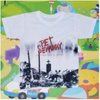 Camiseta Pet Sematary - 2 anos - Slashy Kat