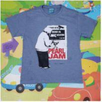 Camiseta do Pearl Jam - 2 anos - Bendita Augusta