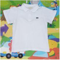 Camisa Polo Branca Baby Club