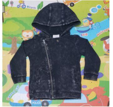 Jaqueta Biker Marmorizada - 3 anos - Baby Club